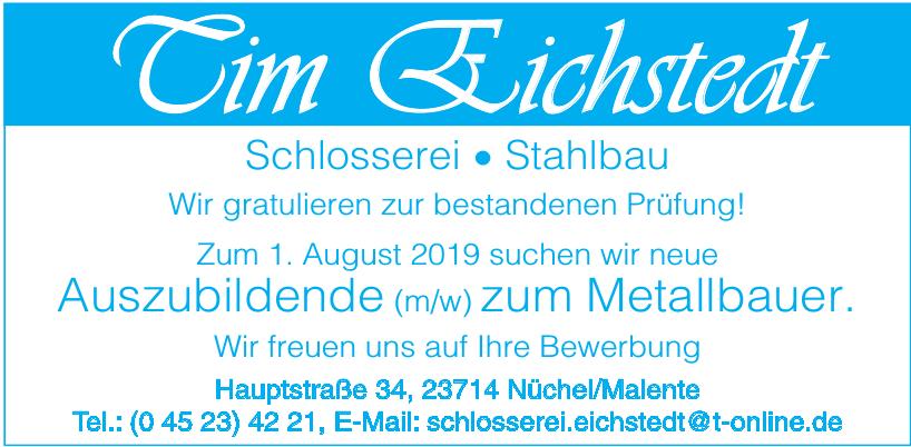 Tim Eichstedt Schlosserei • Stahlbau