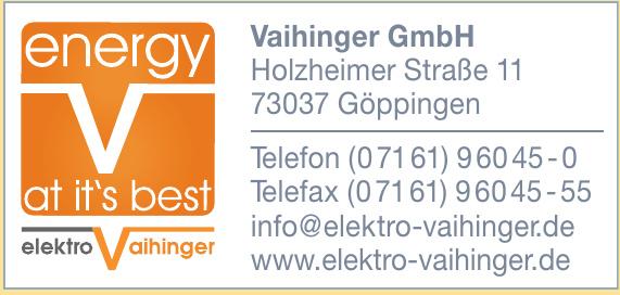 Vaihinger GmbH