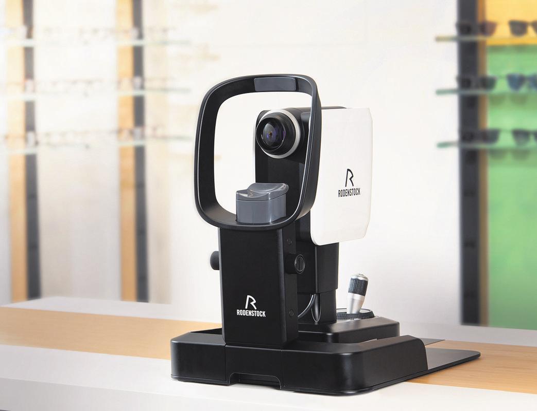 AUGENOPTIK FINDEISEN bietet eine hochpräzise 3-D-Augenvermessung mit dem Fundus-Scanner von Rodenstock. Foto: Rodenstock GmbH