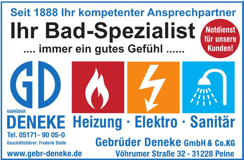 Gebrüder Deneke GmbH & Co. KG