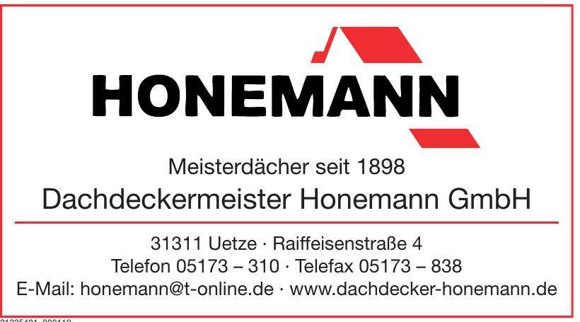 Dachdeckermeister Honemann GmbH