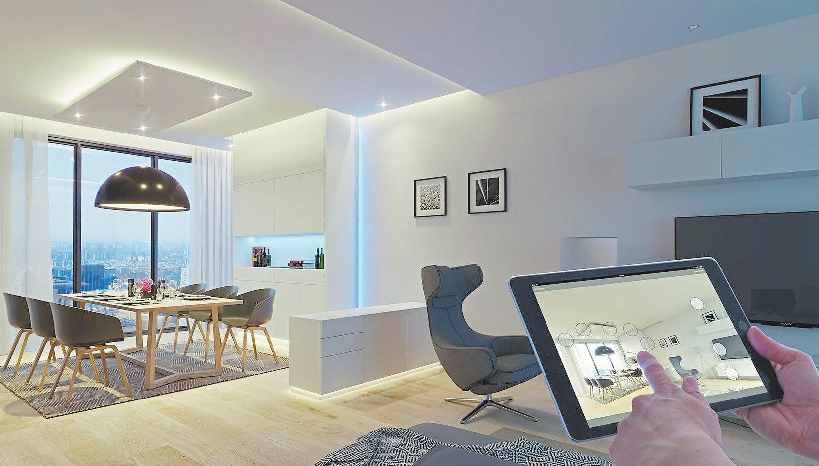 Elektro- und Gebäudetechnik Hermann Vortkamp e.K. bietet individuelle und günstige Smart Home-Lösungen nicht nur für den Neubau auch zur Nachrüstung. Foto: Loox