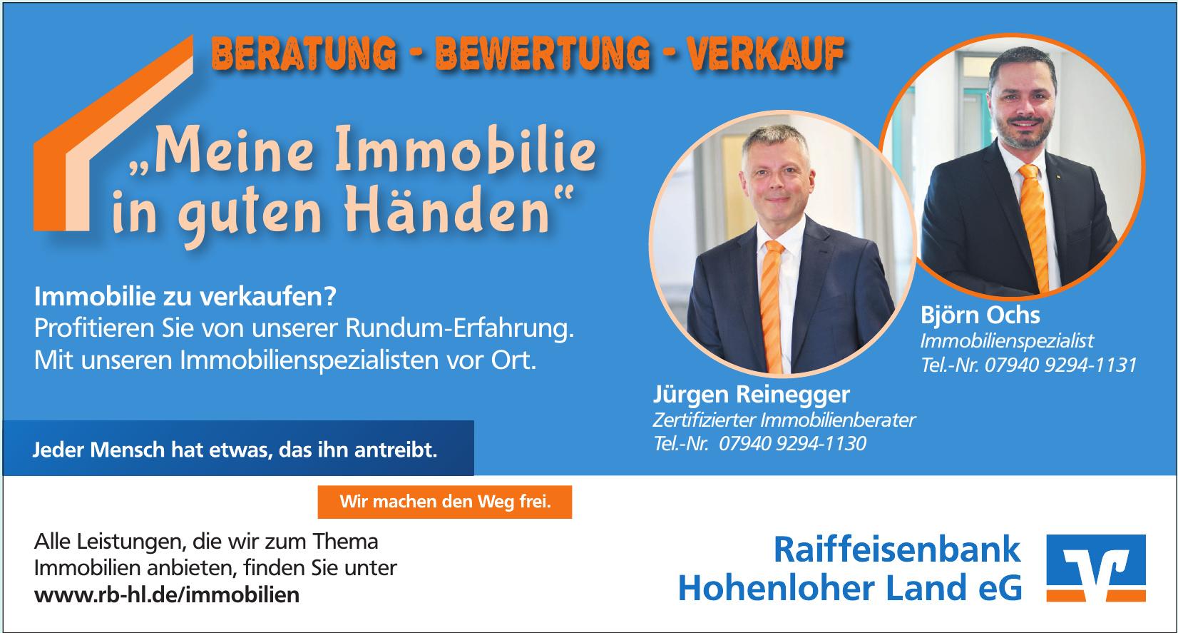 Raiffeisenbank Hohenloher Land eG