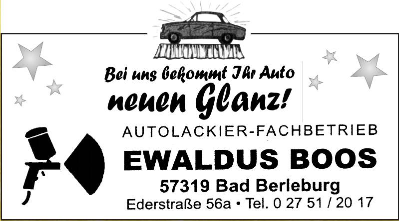 Ewaldus Boos Autolackier-Fachbetrieb
