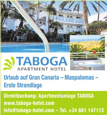 Apartmentanlage TABOGA
