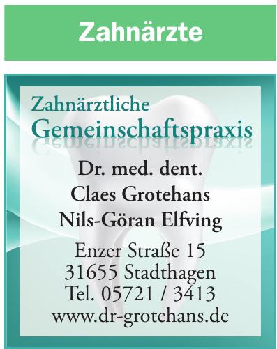 Zahnärztliche Gemeinschaftspraxis Dr. Claes Lennart Grotehans