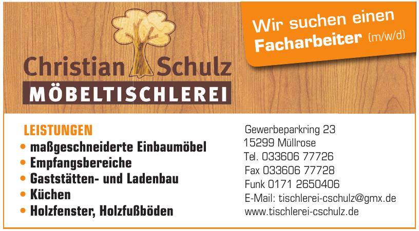 Möbeltischlerei Schulz