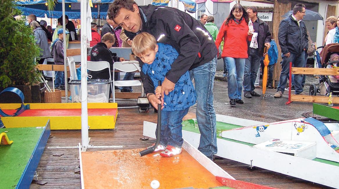 """Im """"Großen Kinderland"""" warten viele Attraktionen auf die jüngsten Besucher. FOTO: BURGHART"""