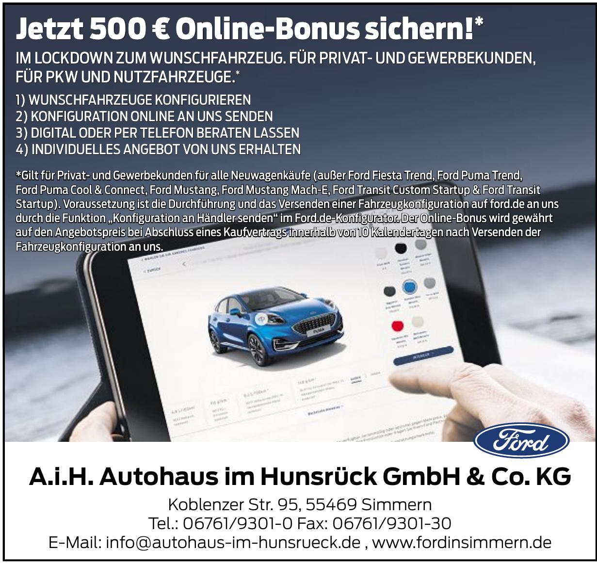 A.i.H. Autohaus im Hunsrück GmbH & Co. KG