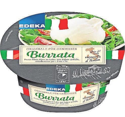 Der Käse ist mild und ein wenig säuerlich – die Konsistenz cremig und sahnig.