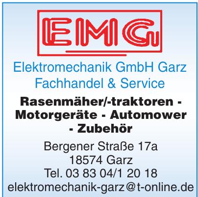 Elektromechanik GmbH Garz Fachhandel & Service