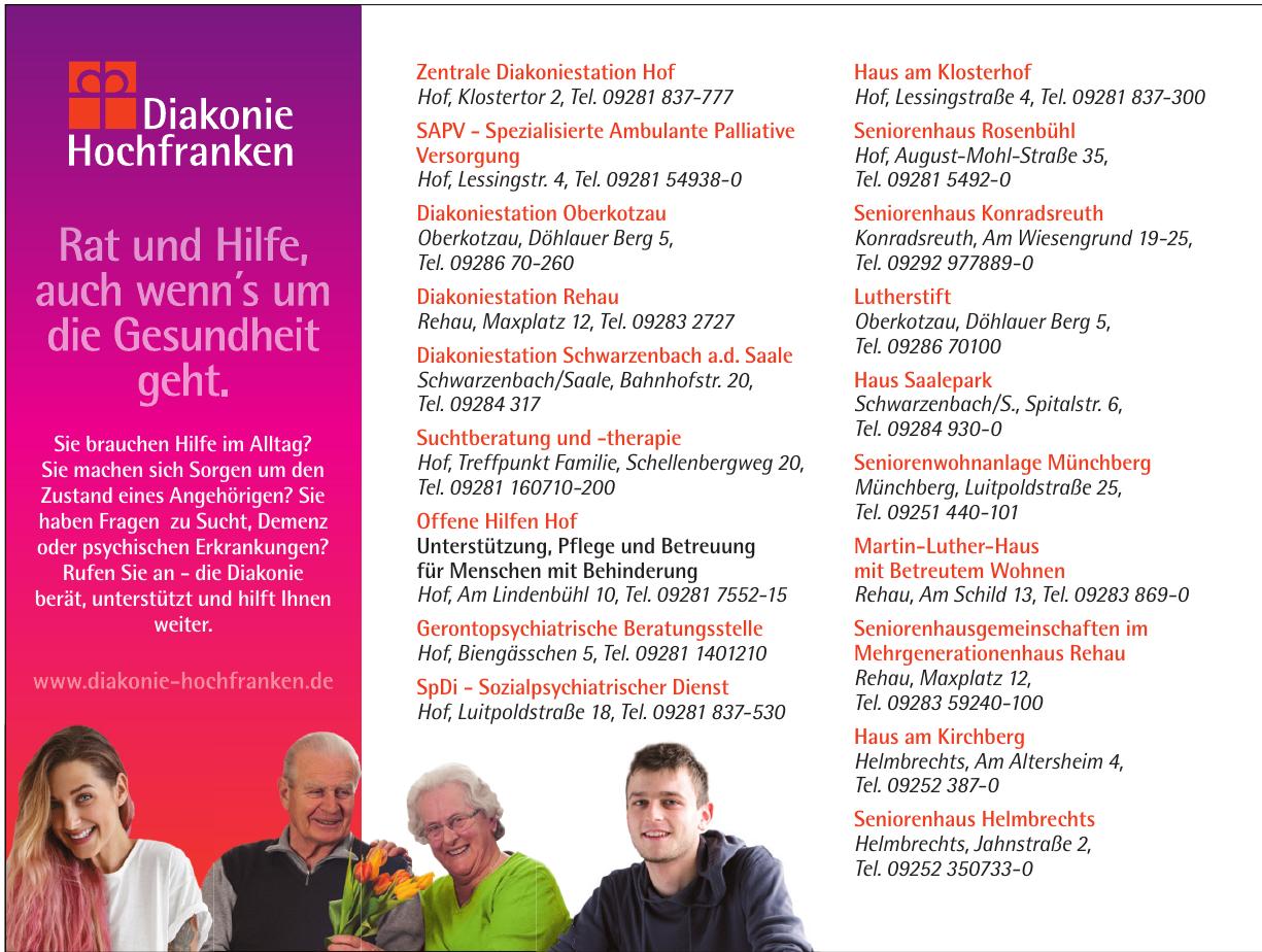 Diakonie Hochfranken