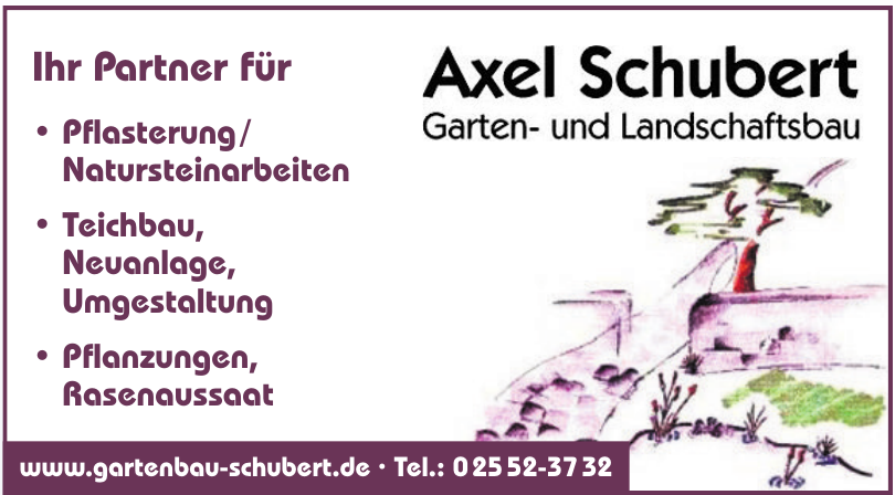 Axel Schubert Garten- und Landschaftsbau