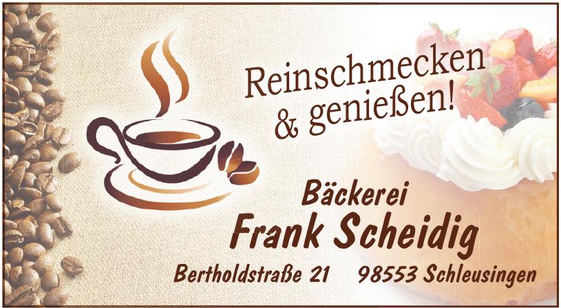 Bäckerei Frank Scheidig