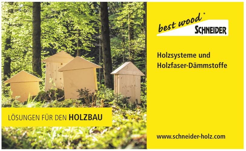 best wood Scheider® GmbH