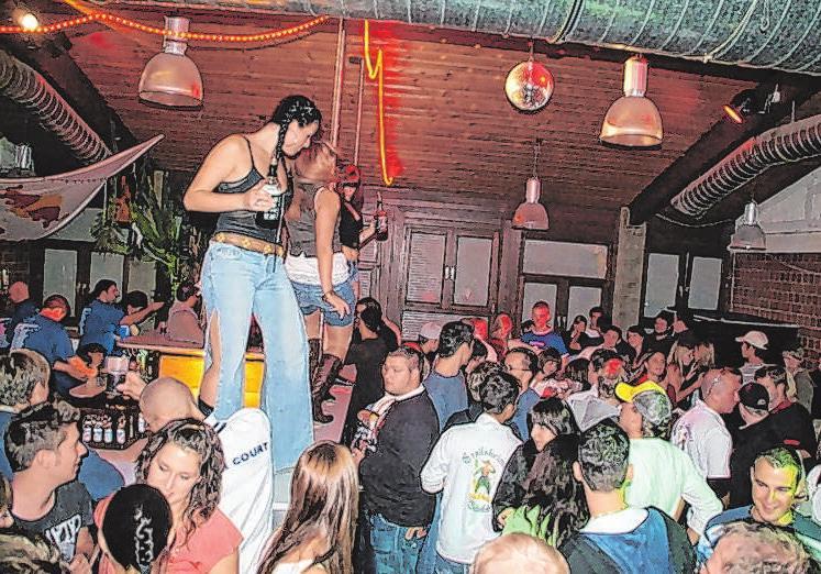 In den 35 Jahren haben die Merlins etliche legendäre Partys veranstaltet.