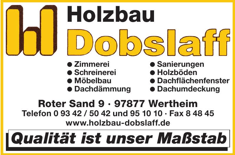 Holzbau Dobslaff