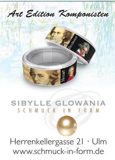 Sibylle Glowania - Schmuck in Form