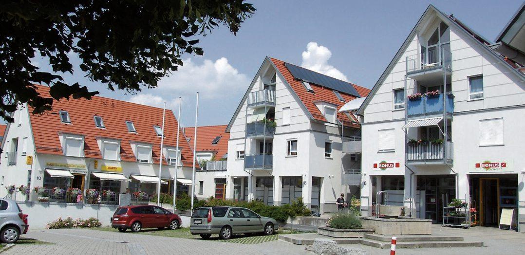 ... oder die Wiederbelebung der Ortsmitte in Kusterdingen...