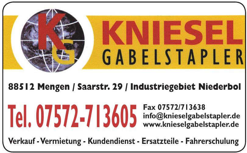 Kniesel Gabelstapler