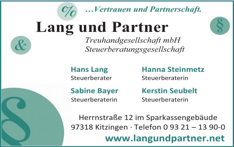Lang und Partner Treuhandgesellschaft mbH
