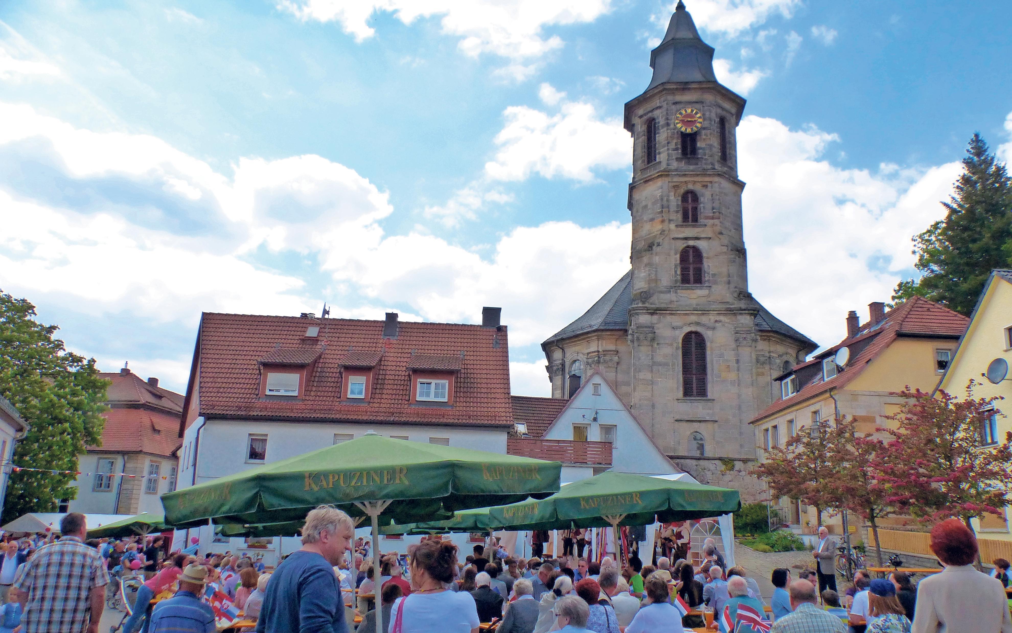 Im Mittelpunkt der Europatage in Neudrossenfeld stehen heuer Tschechien, Polen und die Ukraine. Foto: Archiv/Ute Eschenbacher