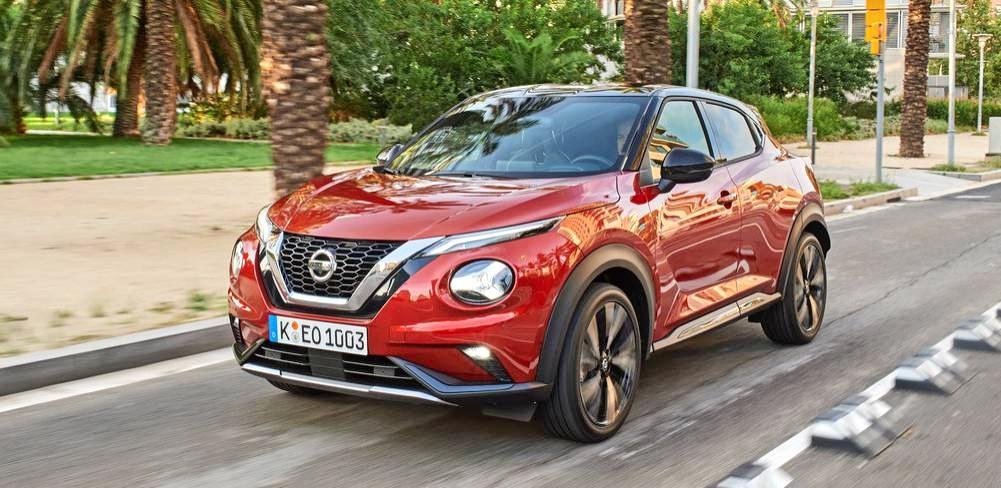 Die Frontpartie des neuen Juke ist optisch weiterhin sehr markant geraten. Fotos: Nissan