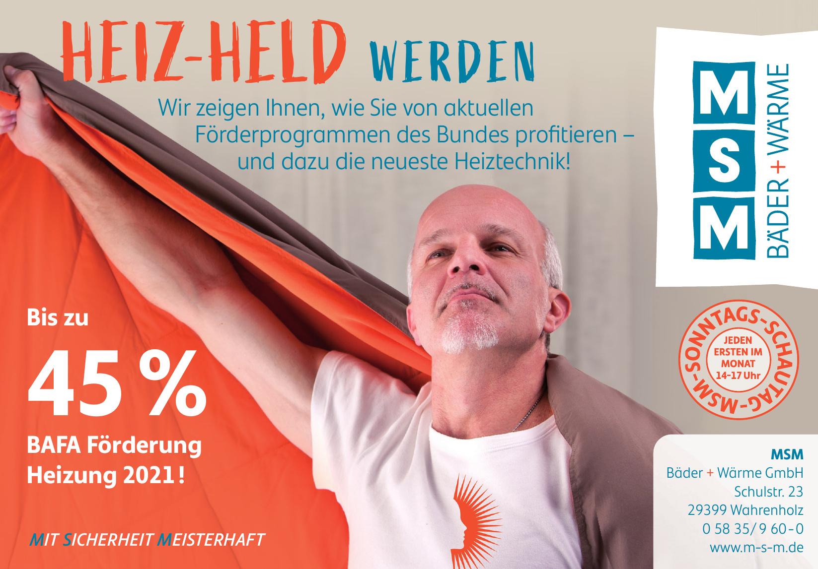 MSM Bäder + Wärmer GmbH