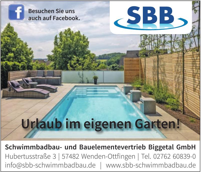 Schwimmbadbau- und Bauelementevertrieb Biggetal GmbH
