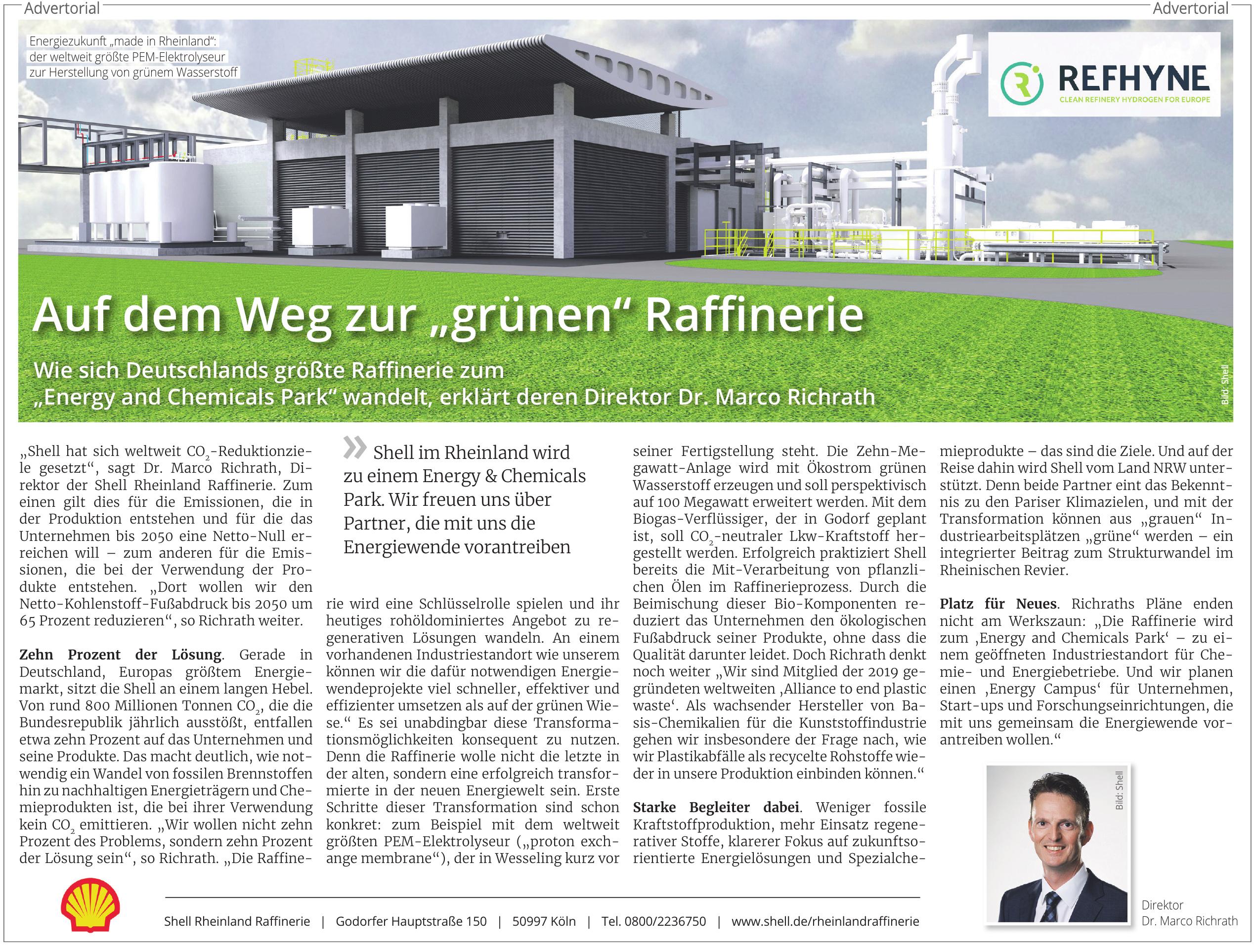 Shell Rheinland Raffinerie