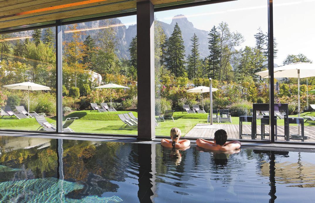 Entspannen nach der Golfrunde. Foto: Hotel Traube