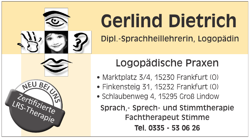 Gerlind Dietrich Logopädische Praxen