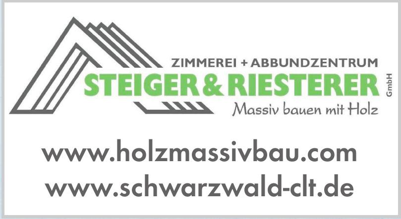 Zimmerei Steiger & Riesterer GmbH