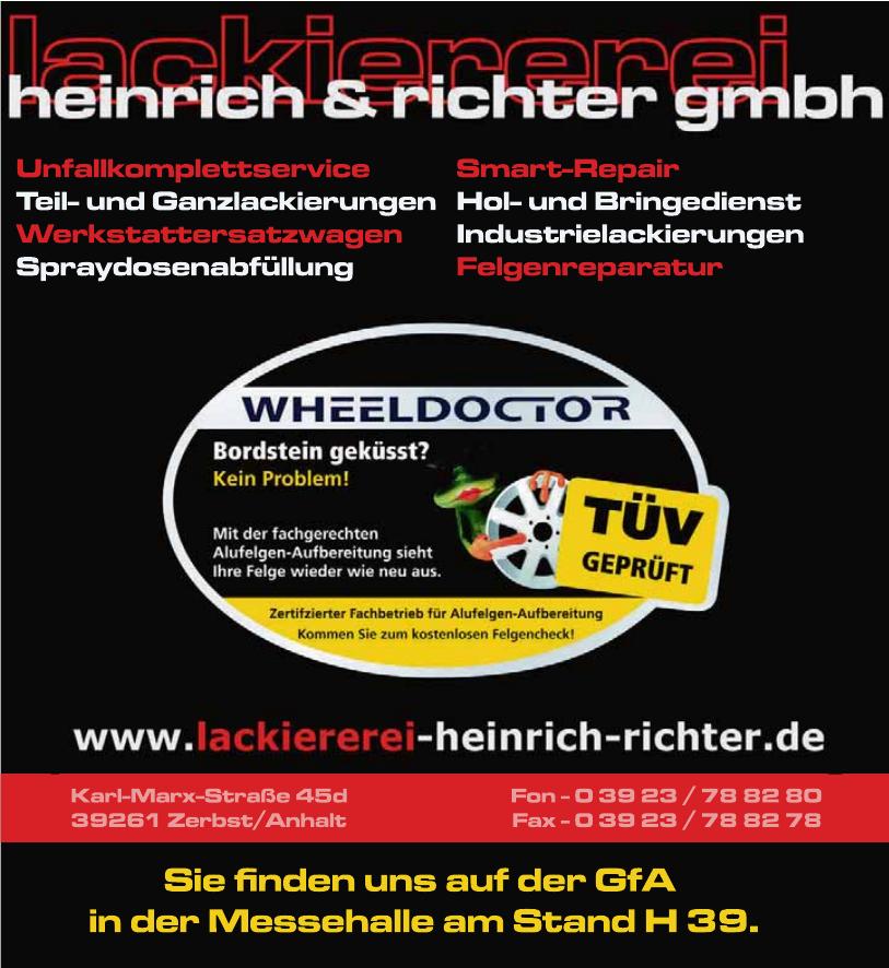 Lackiererei Heinrich & Richter GmbH