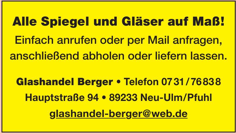 Glashandel Berger