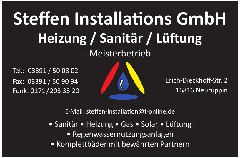 Steffen Installations GmbH
