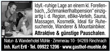 Natur- & Wanderhotel Mühle