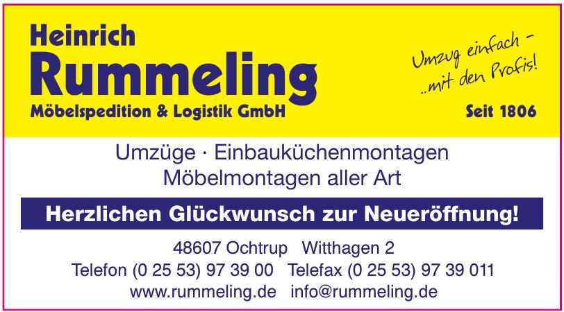 Heinrich Rummeling Möbelspedition & Logistik GmbH