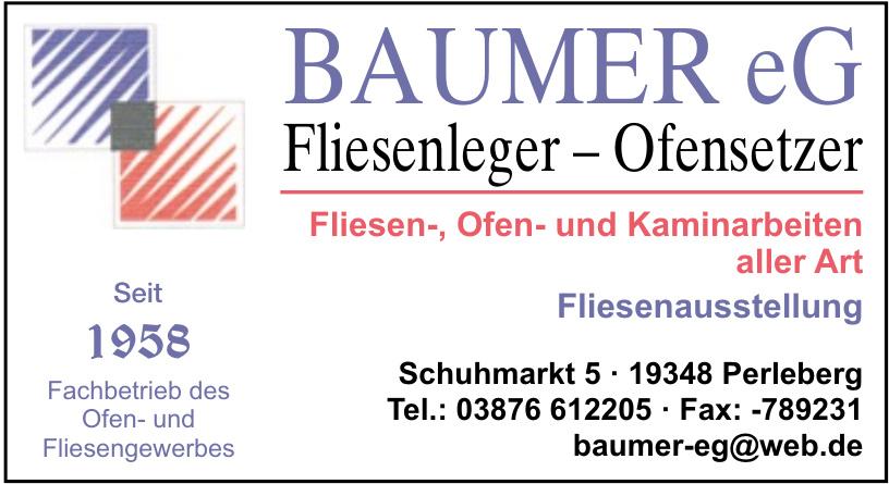 Baumer eG