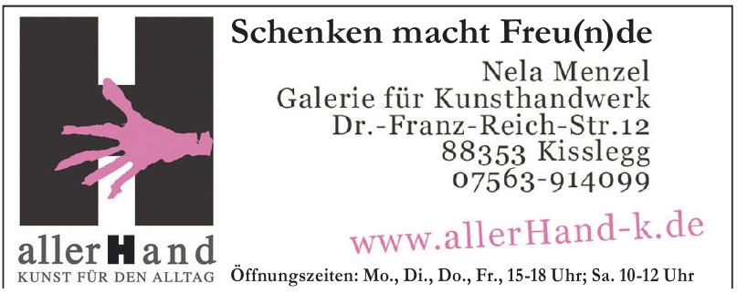 allerHand - Kunst für den Alltag - Nela Menzel