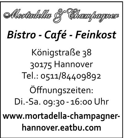 Mortadella & Champagner