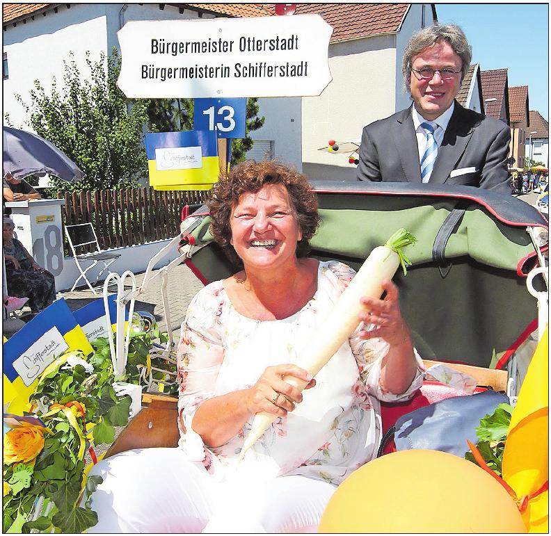 ... sowie Schifferstadts Bürgermeisterin Ilona Volk und Otterstadts Ortsbürgermeister Bernd Zimmermann. ARCHIVFOTO /FOTO: KRAUS/LENZ