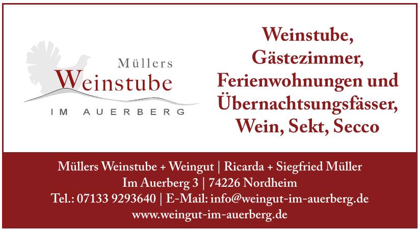 Müllers Weinstube + Weingut