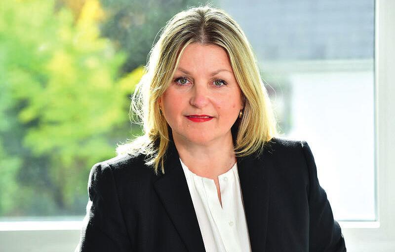 Geschäftsführender Vorstand Stefanie Gollasch.