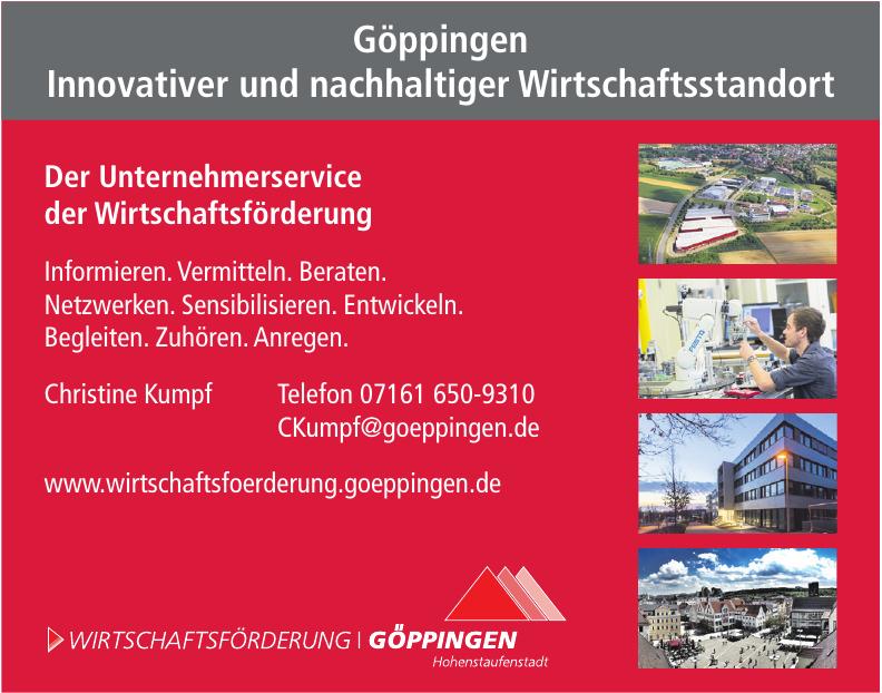 Wirtschaftsförderung Göppingen Hohenstaufenstadt