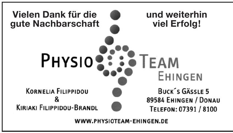 Physioteam Ehingen
