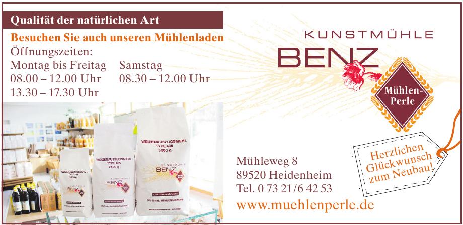 Kunstmühle Benz