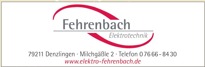 Fehrenbach Elektrotechnik