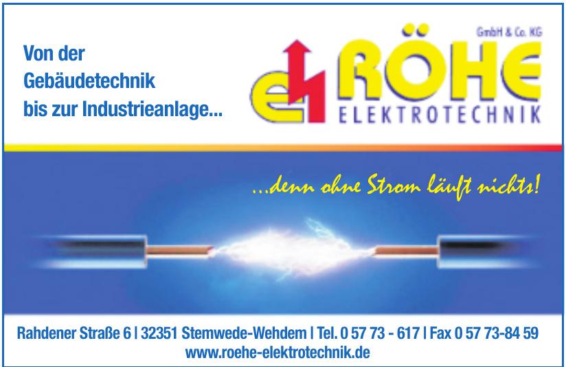 Röhe Elektrotechnik GmbH & Co. KG