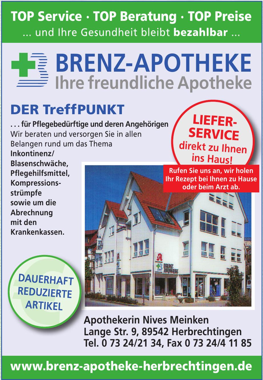 Brenz-Apotheke Apothekerin Nives Meinken